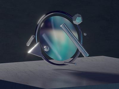 Reflection chrome metal marble art creative blender iridescent reflection 3d animation animation loop cinema4d digital art minimal flare after effects redshift 3d geometric c4d