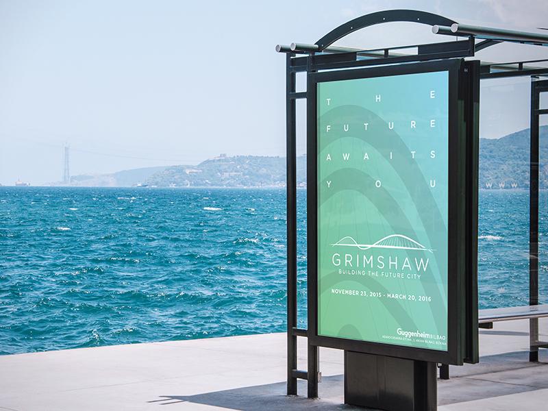 Grimshaw Architects Gala Advertisement by Brad Dawson