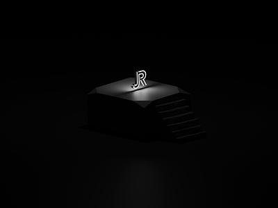 Stairs typography black  white blender gradient ui branding vector logo illustration design flat