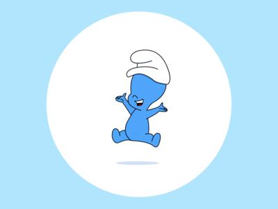 Casper the friendly smurf