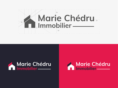 Real Estate Logo Design negative space negativespace construction immobilier estate real realestate house design typography vector ui icon illustration logo design logotype branding logodesign flat logo