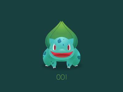 PKMN : 001 : Bulbasaur