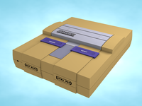 SOM : C4D Bootcamp : SNES