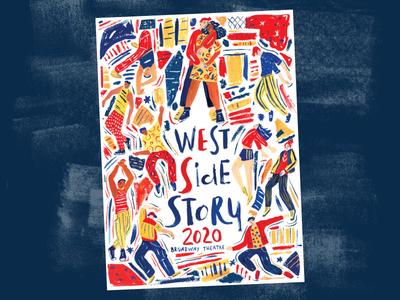 Poster Design handlettering poster art poster design art gouache hand drawn drawing illustration