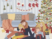 Winter Home Card