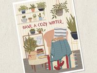Cozy Winter Card