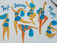Just dancing my way