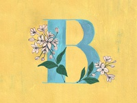 B for Bouvardia