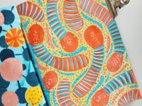 Snake candy pattern