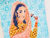 Nur Jahan portrait