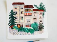 Little houses  - house 8