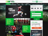 Football Predictor homepage