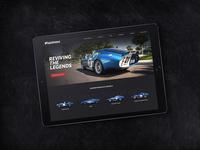 Car manufacturer website redesign
