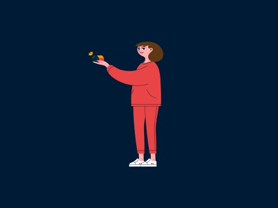 Character 3 - HOME vector design graphicdesign illustration characterdesign adobe illustrator