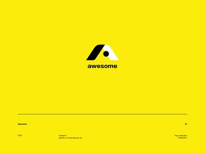 Awesome logotype mark logofolio branding logo