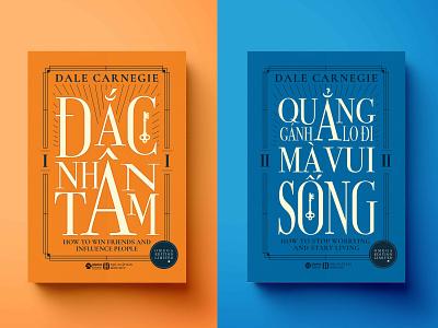 Dale Carnegie Books Cover dale typo typography illustration bookscover design cover books