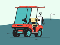 Golf Cart - Rebound