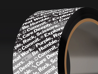 Custom Tape - PRPL Agency