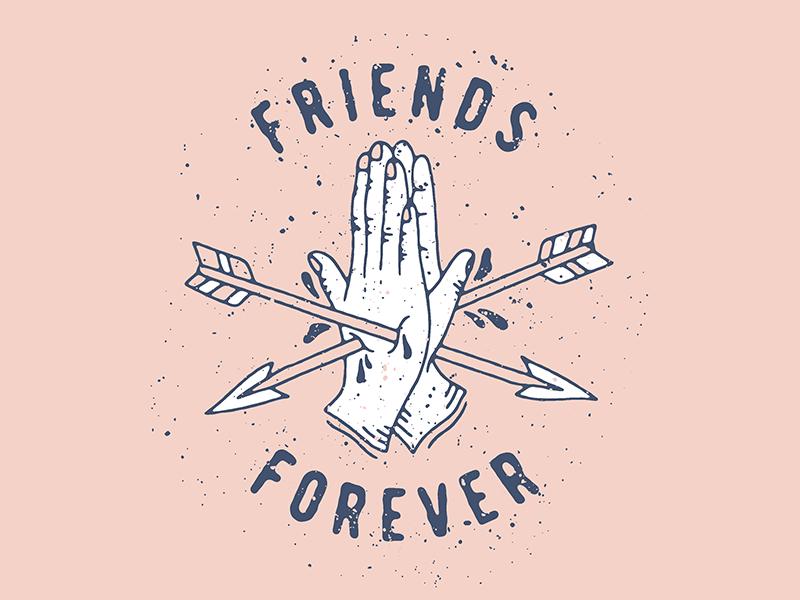 Friends Forever By Eddie Coghlan