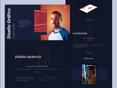 juanpinedaportfolio composition javascript html5 css illustration design landing page website