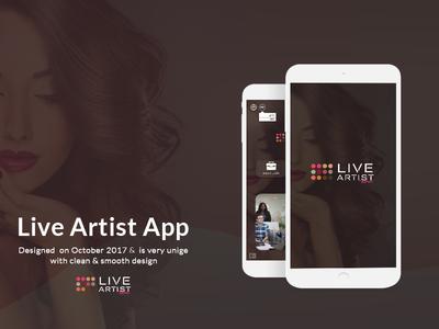 Live Artist Mobile App