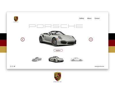 Porsche - UI Design