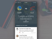 NBA Finals iOS App