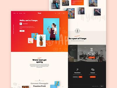 Homepage Concept gradient mesh gradient website concept ux website footer footer design homepage webdesign web landingpage branding design interface ui