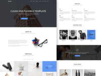 Krunch Agency Landing Page Template