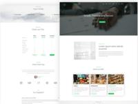 Zermatt - WordPress Company Landing Page Theme