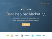 New Radius Homepage Ideation