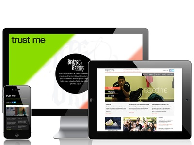 Beats and Brains wordpress responsive html5 css5