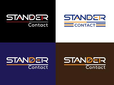 Standard Contact company logo 01 3d logo design logo design vector logo custom design 3d graphic design text logo typography brand design vector minimalist company software wordmark modern brand identity branding logo creative