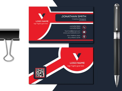 Corporate Business Card Design vector Templet color full business card modern business card corporate business card visiting card stationary logo brand identity design brand vector luxury business card design creative branding graphic design