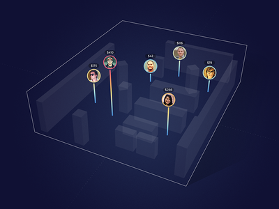 3D Sales Map