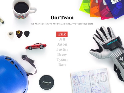 Truth Labs Site - Our Team (1 of 2)