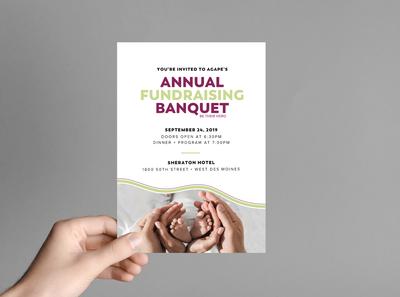 Agape Pregnancy Center Invitation