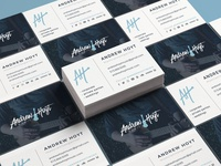 Andrew Hoyt Music Business Cards