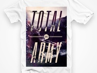 Total BMX Army T-Shirt