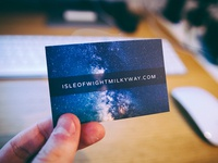 Isle of Wight Milky Way Business Card