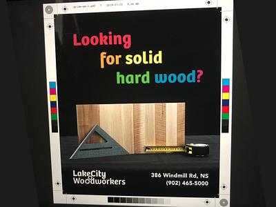 LakeCity Works — Pride Week (Newspaper Ad) photography poster print design advertising pride print newspaper