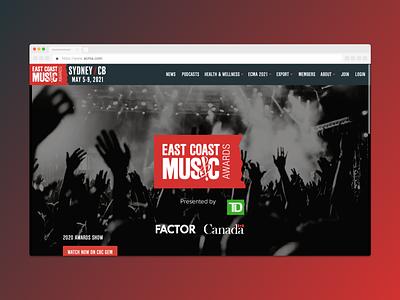 ECMA — Website Design (Home Page) respsonsive web design website design website web