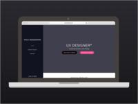 v3 of personal website