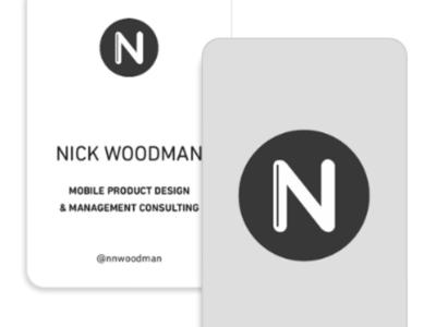Business Card (Large) – Nick Woodman