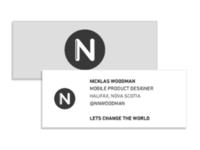 Business Card (Small) – Nick Woodman