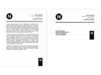 Letterhead & Envelope Design – Nick Woodman