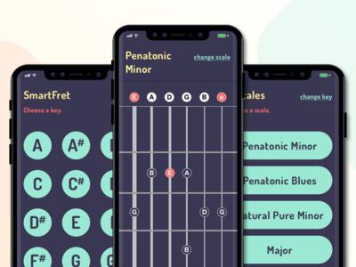 SmartFret – All Screens
