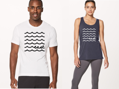 "lululemon ""east"" – Tee & Tank (concepts)"