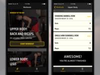 Limitless Fitness – iOS Prototype