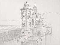 Sketch of Urbino - WIP